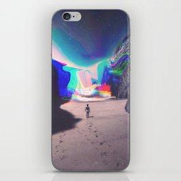 Rainbow Waves iPhone Skin