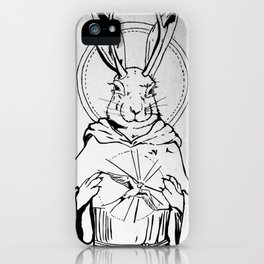 St. Francis as a Jackelope iPhone Case