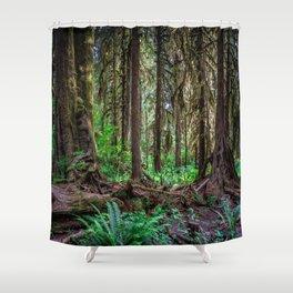 Strange Woods Shower Curtain