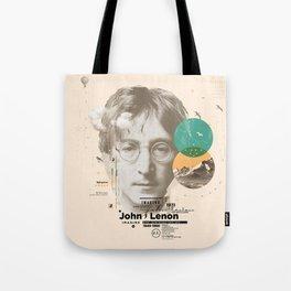 john lenon-imagine Tote Bag
