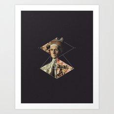 NOT Doge Leonardo Loredan Art Print