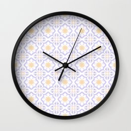 Mourisca Tile Wall Clock