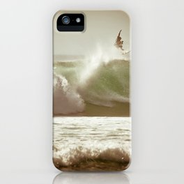 Ride on Bali iPhone Case