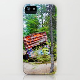 whistler train wreck, 2017 iPhone Case
