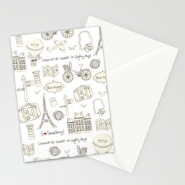 I {❤} Travel Stationery Cards