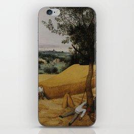 Pieter Bruegel the Elder, The Harvesters iPhone Skin