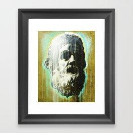 HOLYGHOSTFACE Framed Art Print