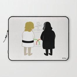 Saber Fight Laptop Sleeve
