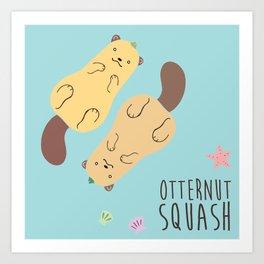 Otternut Squash Art Print