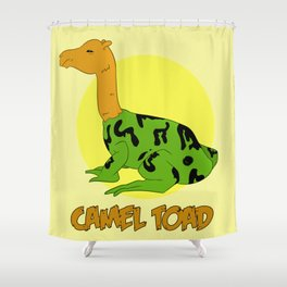 The Camel Toad Shower Curtain