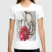 antler T-shirts featuring Antler Flower by Jodi Kassowitz Photography
