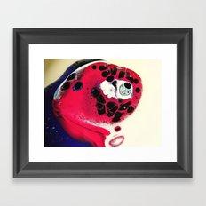 SPACINGS Framed Art Print