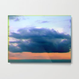 clouds over angel eyes Metal Print
