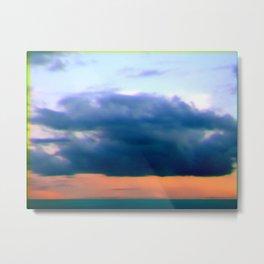 clouds over angel eyes Metal Print