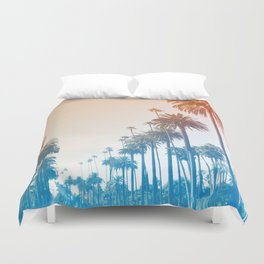Summer in LA Duvet Cover