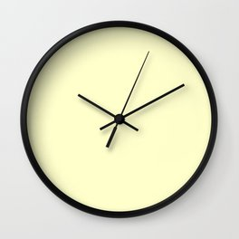 Conditioner -solid color Wall Clock