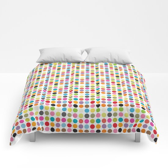 color pattern 6 Comforters