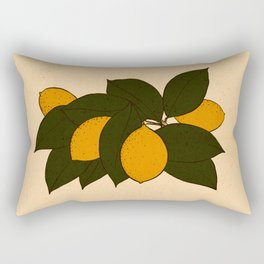 Lemons Rectangular Pillow