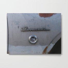 BARRACUDA Badge 1 Metal Print