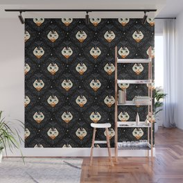 Witchy Kitty Wall Mural