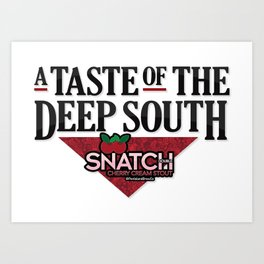 A Taste of the Deep South Art Print