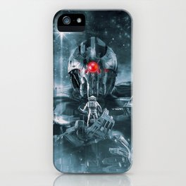 Audience With The Titan iPhone Case