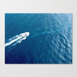 Cruising around the harbour Canvas Print