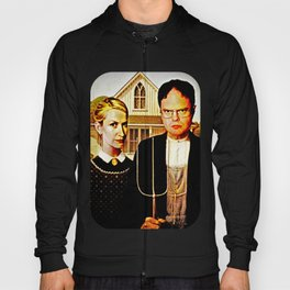 Dwight Schrute & Angela Martin (The Office: American Gothic) Hoody