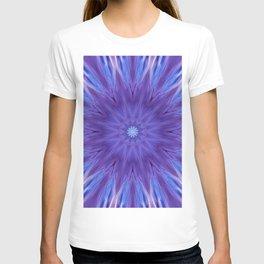 Unique mandala ultra violet T-shirt