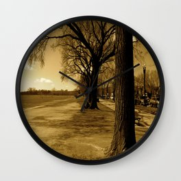 A Memory Wall Clock