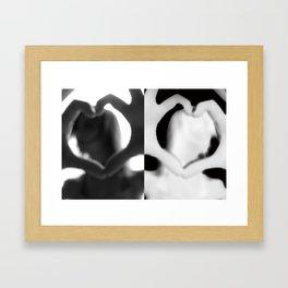 Heavy Heart Attack Framed Art Print