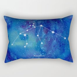 Constellation Aquarius Rectangular Pillow