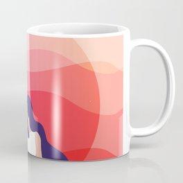Surfing summer evening Coffee Mug