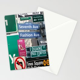 New York City Streets Stationery Cards