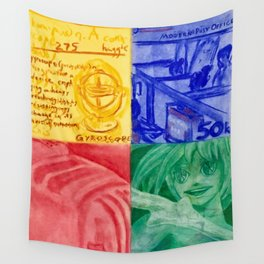 Perpetual Motion Wall Tapestry