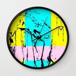 Character Wall Clock