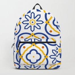 Mediterranean pattern Backpack