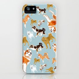 Japanese Dog Breeds iPhone Case