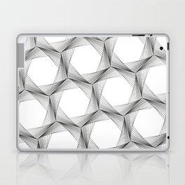 crazy hexagons Laptop & iPad Skin