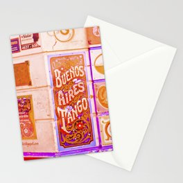 Tango Buenos Aires, Argentina. Stationery Cards