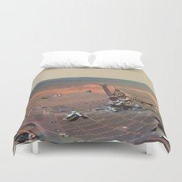Mars - Greeley Panorama Duvet Cover
