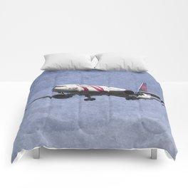 Delta Airlines Boeing 767 Comforters