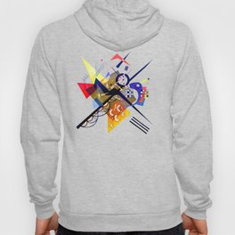 Kandinsky On White II (Auf Weiss) 1923 Artwork Reproduction, Design for Posters, Prints, Tshirts, Me Hoody