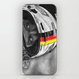 Sebastian Vettel iPhone Skin
