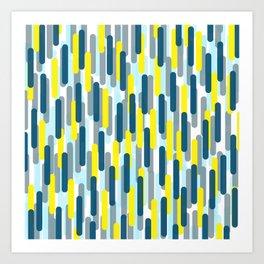 Fast Capsules Vertical Art Print