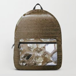 Gold Iridescence and Mirrors Backpack