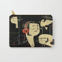 乐 Music Lovers / Vintage Carry-All Pouch