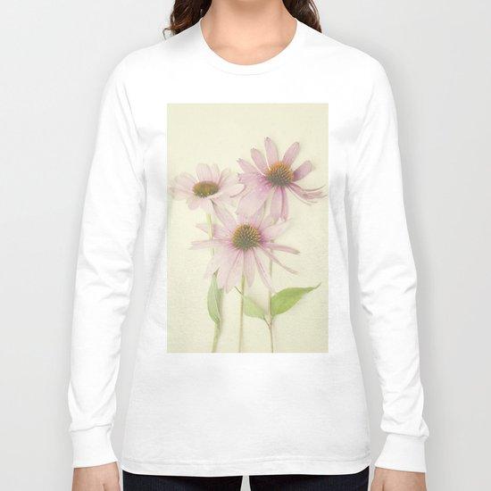 Pink Flower Long Sleeve T-shirt
