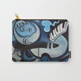 Black & Bleu Carry-All Pouch