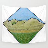 scotland Wall Tapestries featuring Hills of Scotland by Hayley Lang